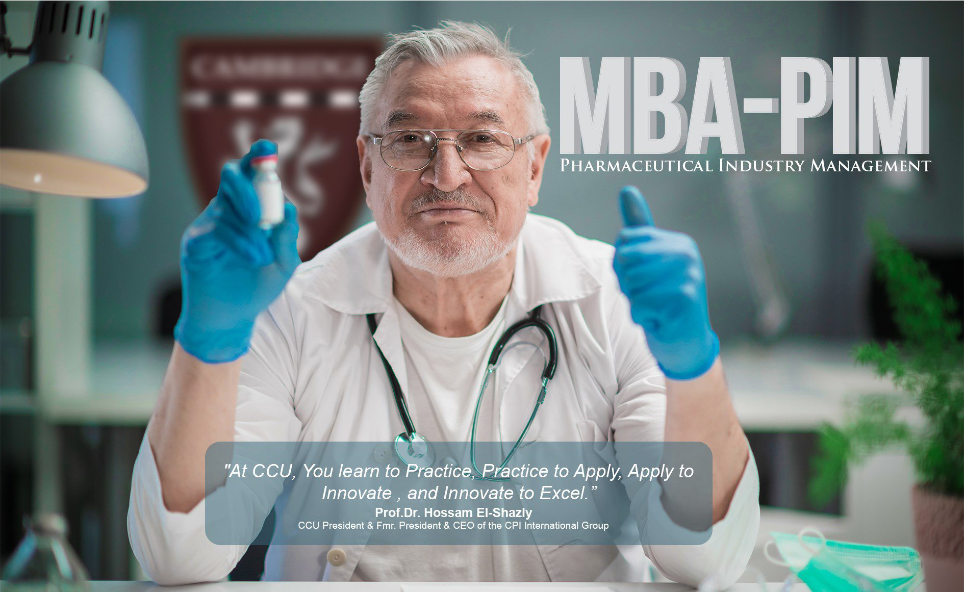 MBA in Pharmaceutical Industry Management